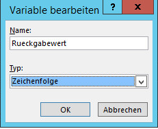 SharePoint Variable erstellen