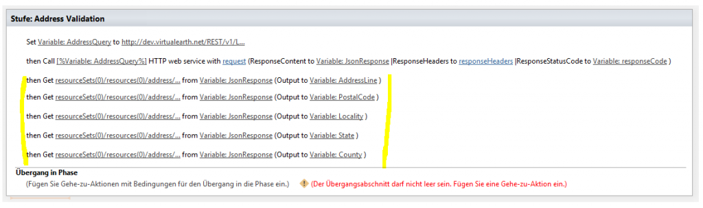 SharePoint Variablen