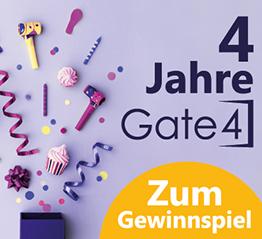 Gate4 4. Geburtstag