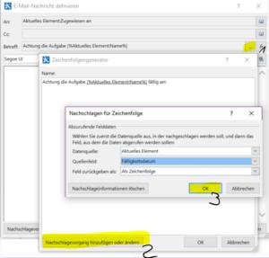 SharePoint Workflow - Betreff konfigurieren