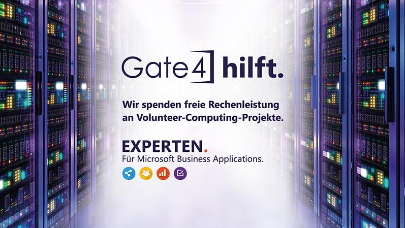 Gate4 hilft bei Volunteer-Computing Projekten